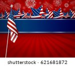 Usa Background Design Of...