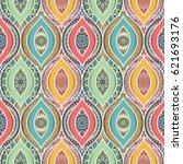 seamless pattern tile. vintage... | Shutterstock .eps vector #621693176