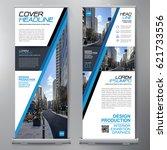business roll up. standee... | Shutterstock .eps vector #621733556