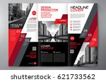 business brochure. flyer design.... | Shutterstock .eps vector #621733562