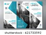 business brochure. flyer design.... | Shutterstock .eps vector #621733592