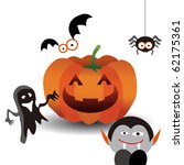 halloween graphic | Shutterstock .eps vector #62175361