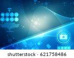 2d medical structure background | Shutterstock . vector #621758486