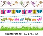 Four Border Designs Of Various...