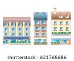 town scape | Shutterstock . vector #621768686