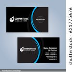 blue and  black modern business ... | Shutterstock .eps vector #621775676