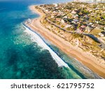 aerial photograph of halls head ... | Shutterstock . vector #621795752