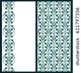vector set with arabic... | Shutterstock .eps vector #621797336