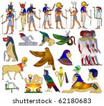 vector various themes of... | Shutterstock .eps vector #62180683