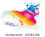 abstract background | Shutterstock .eps vector #62181106