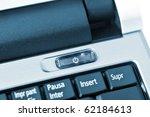 closeup of a keyboard of a... | Shutterstock . vector #62184613