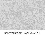 topographic map background... | Shutterstock .eps vector #621906158