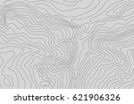 topographic map background... | Shutterstock .eps vector #621906326