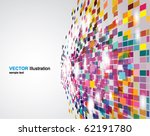 abstract perspective background | Shutterstock .eps vector #62191780