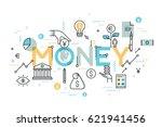 creative infographic banner... | Shutterstock .eps vector #621941456