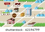 home isometric map   Shutterstock .eps vector #62196799