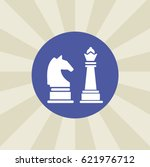 chess icon. sign design....