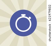 stopwatch icon. sign design....