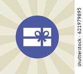 gift icon. sign design....