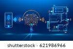 artificial intelligence... | Shutterstock .eps vector #621986966