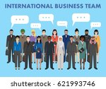 group of business men and women ... | Shutterstock .eps vector #621993746