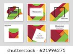 abstract vector layout... | Shutterstock .eps vector #621996275