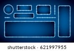 blue neon colored vector retro... | Shutterstock .eps vector #621997955