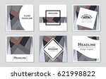 abstract vector layout... | Shutterstock .eps vector #621998822