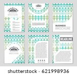 abstract vector layout... | Shutterstock .eps vector #621998936