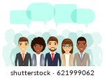 team of office workers. the... | Shutterstock .eps vector #621999062