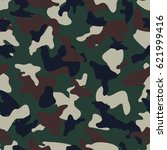 camouflage seamless color... | Shutterstock .eps vector #621999416