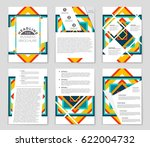 abstract vector layout... | Shutterstock .eps vector #622004732
