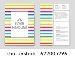 abstract vector layout... | Shutterstock .eps vector #622005296