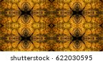 abstract seamless pattern with... | Shutterstock . vector #622030595