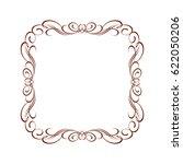 frame in retro style.vector... | Shutterstock .eps vector #622050206