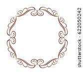frame in retro style.vector... | Shutterstock .eps vector #622050242