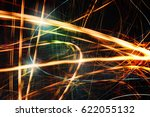 abstract sparkling light energy ... | Shutterstock . vector #622055132