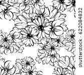 abstract elegance seamless... | Shutterstock . vector #622084832