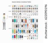 character creation doctor | Shutterstock .eps vector #622090196