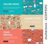 web banners design template... | Shutterstock .eps vector #622095092