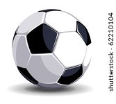 high quality isolated soccer... | Shutterstock .eps vector #62210104