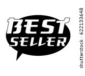best seller white wording on... | Shutterstock . vector #622133648