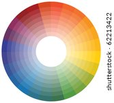 color wheel | Shutterstock . vector #62213422