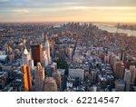 New York City Manhattan Sunset...