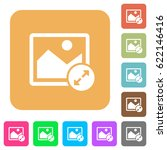 resize image large flat icons... | Shutterstock .eps vector #622146416