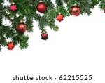 branches of fir with stars and... | Shutterstock . vector #62215525
