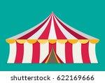 circus tent vector  flat design | Shutterstock .eps vector #622169666