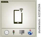 wireless connectivity concept.... | Shutterstock .eps vector #622181366