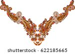 hungarian folk art  | Shutterstock .eps vector #622185665