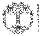 A Celtic Drawing Is A Symbol O...